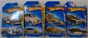 2009 HOT WHEELS: MIXED LOT OF 4 CARS